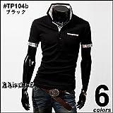 (ライセンス)RAiseNsE 半袖ポロシャツ チェック柄 シャツ #TP104