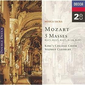 "Mozart: Mass in C, K.257 ""Credo"" - 4. Sanctus"