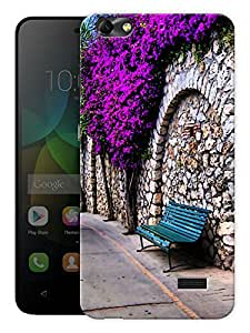 """Humor Gang Bench In Park Printed Designer Mobile Back Cover For """"Huawei Honor 4C"""" (3D, Matte, Premium Quality Snap On Case)"""