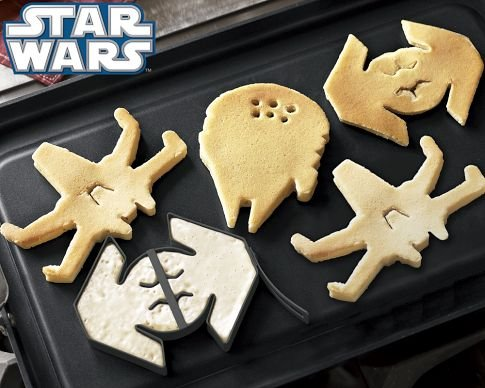 Star Wars Pancake Molds (Set of 3)