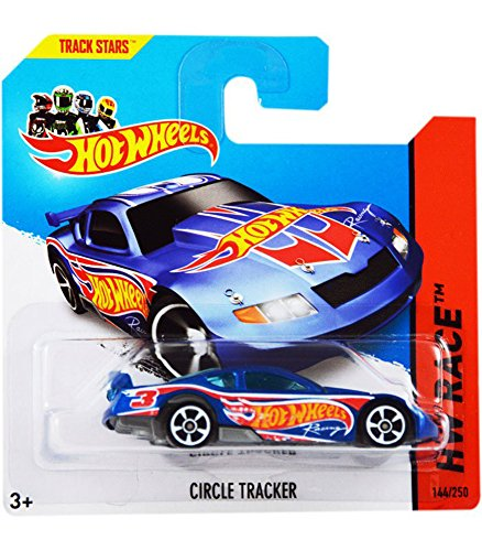 Circle Tracker '14 Hot Wheels 144/250 (Blue) Vehicle - 1