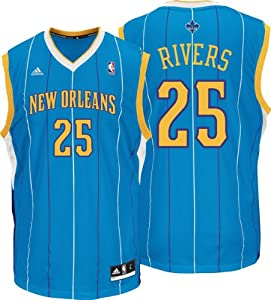 Austin Rivers: Adidas Revolution 30 Nba Replica #25 New Orleans Hornets Jersey by adidas