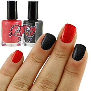 NFL Tampa Bay Buccaneers Two-Pack Team Colored Nail Polish