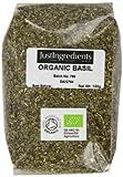 JustIngredients Organic Basil Loose 100 g (Pack of 5)