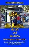 USA Reiseknigge: die do's + die don'ts - die Basics