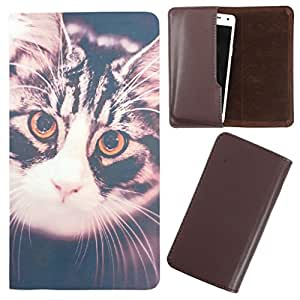 DooDa - For Karbonn A96 PU Leather Designer Fashionable Fancy Case Cover Pouch With Smooth Inner Velvet