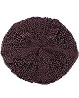 Nouveautés Dame Hiver chaud tricot crochet Slouch Baggy Beret Bonnet Cap 5 couleurs par Boolavard ® TM UPICK