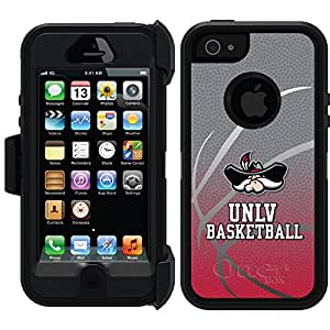 Coveroo Defender Series Cell Phone Case for iPhone 5s - Retail Packaging - Basketball Design