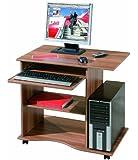 Interlink Adda Computer Desk, Walnut