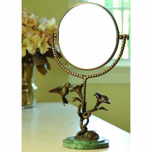 Bird Humming And Flower Mirror front-1063226