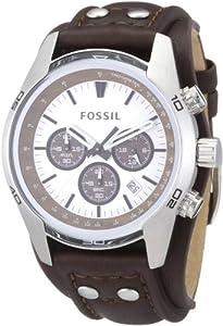 Fossil - CH2565 - Montre Homme - Quartz Analogique - Chronographe - Bracelet en Cuir Marron par Fossil