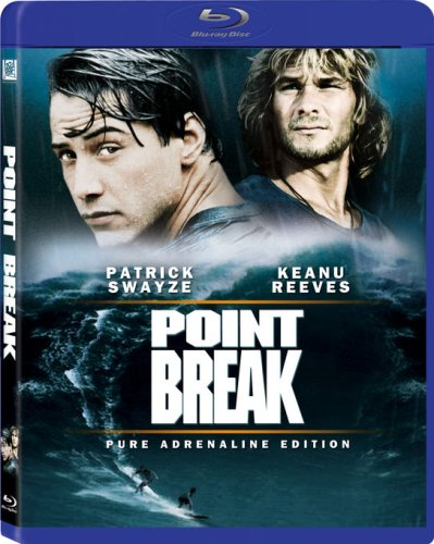 Cover art for  Point Break [Blu-ray]