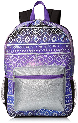 Accessories 22 Girl's Fashion Backpack Boho Hipster Princess, Multi, One Size