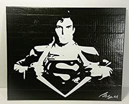 Duct Tape Art Piece of Superman