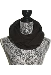 Knit Infinity Circle Loop Winter Super Soft Warm Scarf for Women and Men