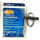 Hoover Part#4010100Y - (9 Type Y bags & (2) 38528-033 belts)