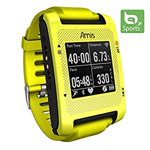 Bryton Amis S430E Smartest GPS Running Watch (Yellow)