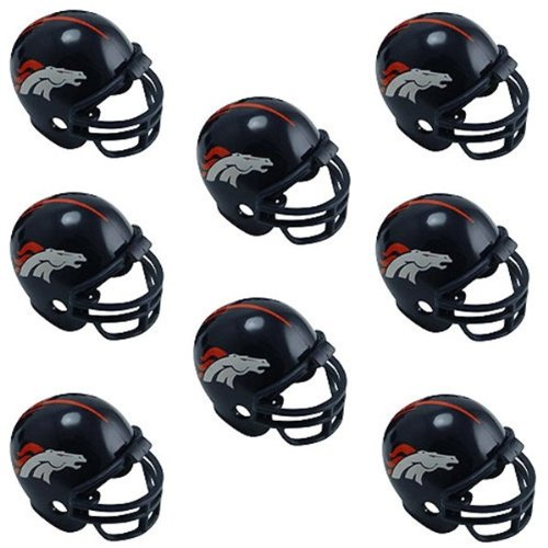 Denver Broncos Nfl Helmet Party Kit - (2 Pack)