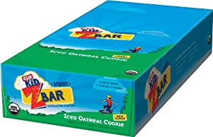 Clif Bar Kids ZBar: Iced Oatmeal Cookie Box of 18