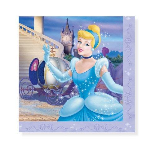 Cinderella Stardust Luncheon Napkins (16)