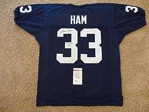 Signed Jack Ham Jersey - Chof 90 Autogaphed - JSA Certified - Autographed College... by Sports+Memorabilia