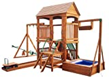Sportspower Deluxe Wood Backyard Play System