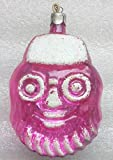 Mask Original USSR Soviet Union Russian Christmas Tree Glass Ornament decoration