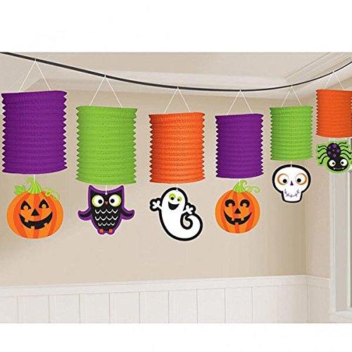 Halloween Lantern Garland