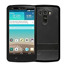 LG G3 Waterproof Case, Vcloo® Waterproof Case, Full Sealed Protection Case, Dust Proof, Snow Proof, Shock Proof Durable Case with a 3.5mm AUX Cable for LG G3 (Black)
