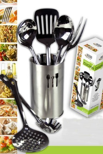 Sestiglia da cucina set di mestoli utensili da cucina in for Utensili cucina online shop