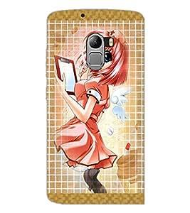 PrintDhaba Fantasy Girl D-5680 Back Case Cover for LENOVO VIBE X3 c78 (Multi-Coloured)