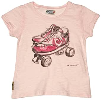 Chipie Kolibri Printed Girl's T-Shirt Light Pink 4 Years