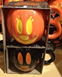 DISNEYLAND Mickey & Minnie Mouse Halloween Mug Set (Comes Sealed) - Disney Parks Exclusive & Limited Availability