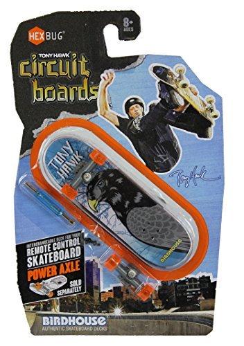 Hexbug Tony Hawk Circuit Boards Birdhouse Gray Black Hawk Design Image - 1