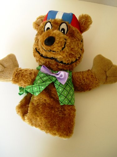 St Jude Children's Hospital Bikewell Bear Hand Puppet Plush