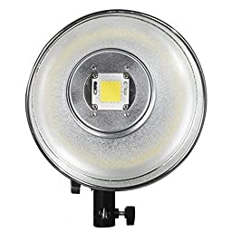 ILED-H 100WA Daylight LED Portable Studio Light with Bowens S-Type Mount and DC2.5 Jack