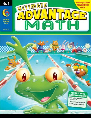 Creative Teaching Press Ultimate Advantage Math Gr 1