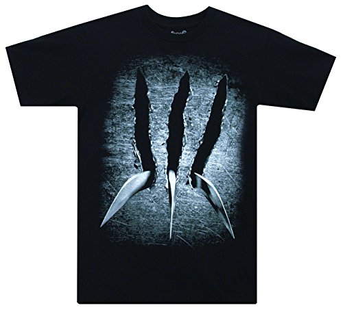 X-Men Wolverine Claw Marvel Comics Mighty Fine Adult T-Shirt Tee