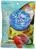 GoLightly Sugar Free Tropical Fruit Candy, 2.75-Ounce Bags (Pack of 12)