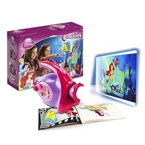 Cinexin - Princesas Disney, proyector de animación con luz y sonido (Giro CX0802)