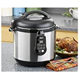 Deni 9765 Electric Pressure Cooker, 6.5-Quart