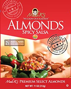 Madi Ks Spicy Salsa Almonds 11-ounce Pouches Pack Of 4 from Madi K's