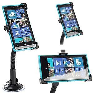 KFZ Autohalterung KFZ Halter für das Nokia Lumia 920 inkl. Ladekabel