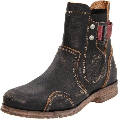Fly London Men's Sean Black Boot P142040000 10 UK