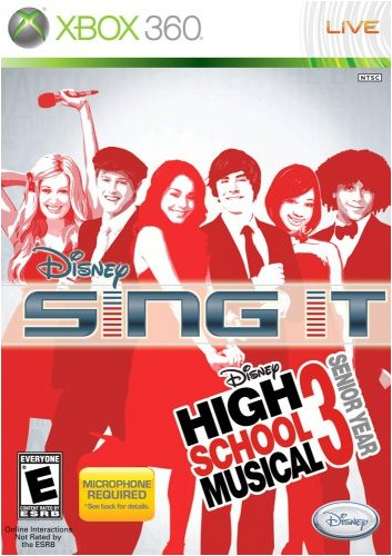 Disney Sing It: High School Musical 3 Senior Year - Xbox 360 (Game Only) - 1
