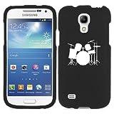 Samsung Galaxy Mega 2 G750 Snap On 2 Piece Rubber Hard Case Cover Drum Set Black