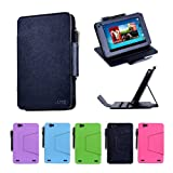 i-UniK Hisense Sero 7 PRO Tablet Case / Multi-Angles Cover [Retail Packaging & FREE Stylus Pen] - (BLACK)