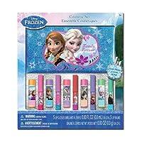 Frozen 10pk Lip Balm & Lip Gloss with Cosmetic Bag in Window Box