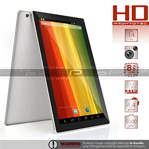 ProntoTec 2014 NEW 10.1 inch A31S Quad Nucleus Android Tablet PC, Android4.4, 1.4GHz,1024*600 HD, Dual Cameras, Multi Points-touch Touc