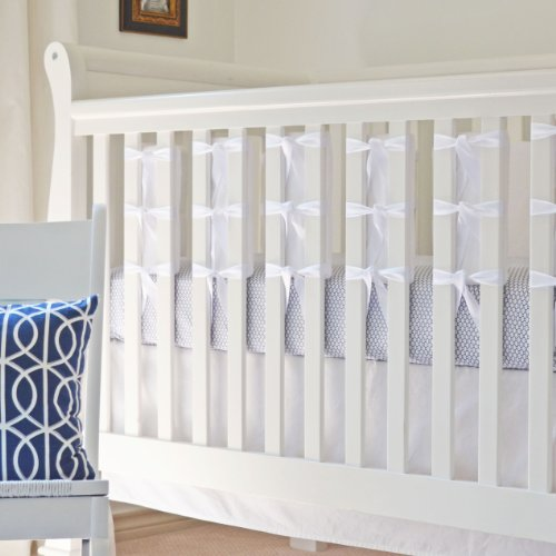 Oliver B 20-Pack Ventilated Crib Slat Bumpers, White